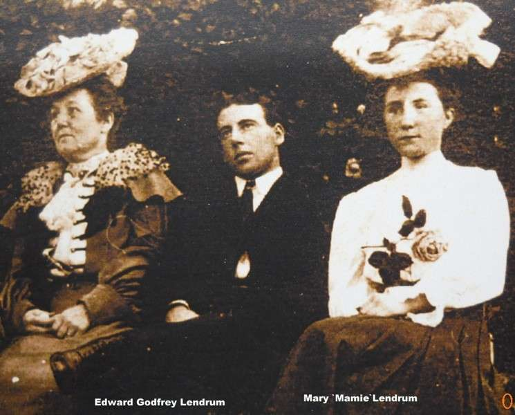 Edward&mary Mamie Lendrum 1